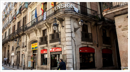 Lodging in Barcelona, Center